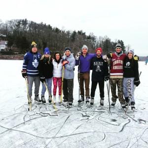 Pond skating 2016